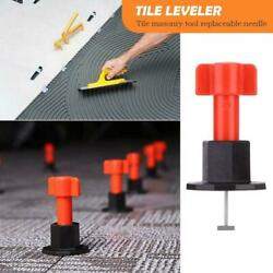 75X Reusable Flat Ceramic Floor Wall Construction Tools Tile Leveling System KIT $16.69