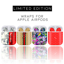 Apple Airpods Airpod Vinyl Skin Decal Wrap (Wrap Only Device Is Not Included)