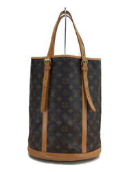 LOUIS VUITTON bucket _ Monogram canvas PVC BRW porch shortage (42689