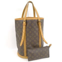 Louis Vuitton tote bag bucket GM Monogram M42236 (45032