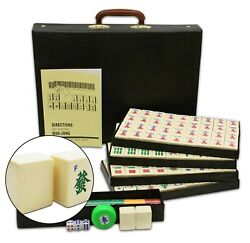 Chinese Mahjong Set X-Large 144 Numbered Tiles 1.6