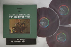 3LP KINGSTON TRIO All About The Kingston Trio CP9006C CAPITOL JAPAN Vinyl