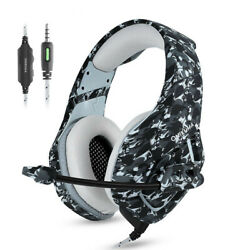 Gaming Headset PS4 Gamer Stereo Headphones with Mic for New Xbox OneLaptopPC