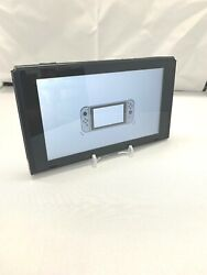 Nintendo Switch HAC-001 32GB Console Only Black UNPATCHED HACKABLE LOW SN Grd B
