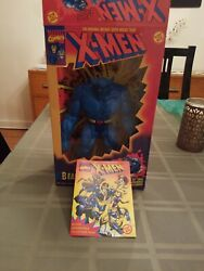 Toy Biz Marvel Comics Deluxe Edition 10 inch X-Men Beast MIB