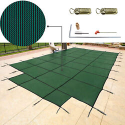 Vevor Winter Swimming Pool Safety Cover 18X36 FTCover Mesh In-Ground