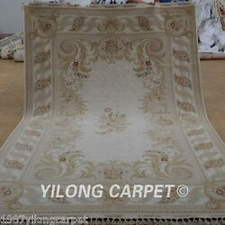 Yilong 6.56'x9.84' Pure Wool Area Rugs Great Silk Luxury Carpets Hand made 1900