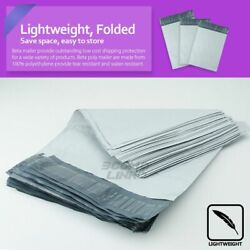 Poly Mailers Shipping Mailing Packaging Plastic Envelope Self Sealing Bags White $4.90