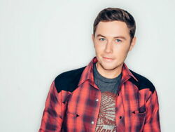 V7472 Scotty McCreery Cute Portrait Country Music Singer Wall Poster Print