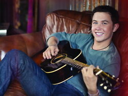 V7545 Scotty McCreery Smile Guitar Cute Country Singer Wall Poster Print