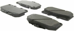 Centric Posi-Quiet Brake Pad Set Front For 89-96 Nissan 300ZX #104.06470