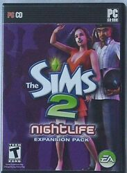 The Sims 2 Nightlife Game PC CD Game