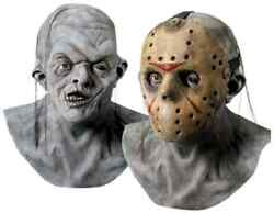 Freddy vs. Jason Voorhees Mask Friday 13th Halloween Adult Costume Accessory $65.53