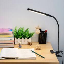 Flexible LED USB Clip-on Table Desk Lamp 3 Mode Reading Vintage Night Light