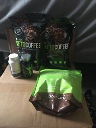 IT WORKS FIT 30 thermofight X2 KETO COFFEE  GREENS Chocolate 🍫Fatfighter