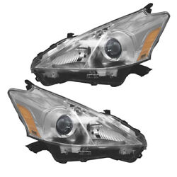 For 12 14 Prius V Wagon 1.8L Front Headlight Headlamp Head Light Lamp Set Pair $364.95