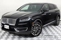 2019 Lincoln Other  Nautilus Reserve 20 Inch Wheels Panoramic Sunroof Navigation