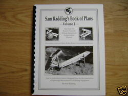 Sam Radding#x27;s Book of Plans Vol 1 Mining Placer Gold $15.95
