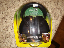 Howard Leight shooter earmuff Leightning L3 Maximum Protection Brand new! 30 dbs
