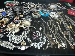 antique till now 400 lbs jewelry lot  wearable some repair