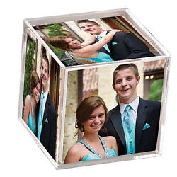 Unimprinted Clear Memories Photo Cube