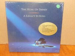 Music Of Disney: A Legacy In Song 3 CD Box SEALED NEW