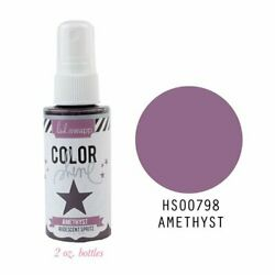 American Crafts Heidi Swapp Color She Spritz 2 Ounce Bottle Amethyst