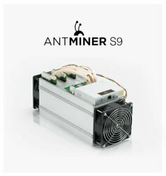 Antminer S9~13.5THs  0.098WGH 16nm ASIC Bitcoin Miner