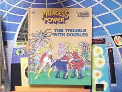 Vintage Golden book SHE-RA PRINCESS OF POWER TROUBLES WITH DOUBLES HARD COVER