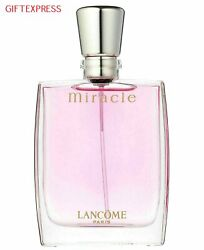 MIRACLE by Lancome 3.3 3.4 oz edp Perfume Test $52.90