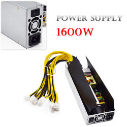 1600W Platinum Antminer APW3 Mining Power Supply For Antminer Miner S9 S7 Hotsel $107.99