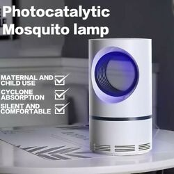 Electric Fly Bug Zapper Mosquito Insect Killer LED Light Trap Pest Control Lamp $10.95