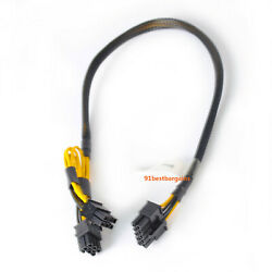 50cm GPU cable 10pin to 66pin Power Adapter Cable for HP DL380 G8 and GPU Fast $16.89