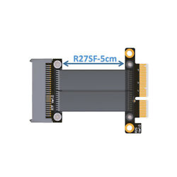 U.2 NVMe SSD to PCI E 3.0 x4 SFF 8639 NVMe PCIe Extension Cable 8G bps 30CM $29.60