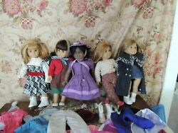 American Girl & Pleasant Company Doll Lot Vintage HUGE 5 Dolls Free Shipping