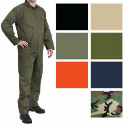 Military Flight Suit Work Coveralls Air Force Overalls Utility Jumpsuit $59.99