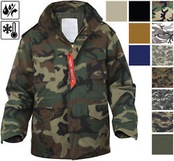 Military M 65 Field Jacket and Liner Tactical M65 Coat Uniform Army Camo $88.99