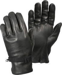Black D 3A Type Military Genuine Leather Gloves $19.99