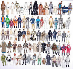**YOU PICK** VINTAGE STAR WARS FIGURES Kenner 1977 1984 NO REPRO ANH ESB ROTJ $49.95