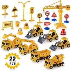 Construction Trucks Toy Set Building Engineering Construction Equipment for Kids