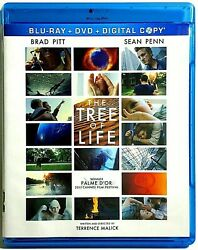 The Tree of Life (Blu-ray+DVD+DIG) VERY GOOD DISC + COVER ARTWORK - NO CASE