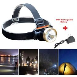 5000LM LED Rechargeable Waterproof Headlight Head Lamp Charger US $7.45