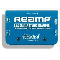 Radial Engineering ProRMP Passive Studio Reamper Box Reamping Re-Amp Device