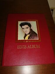 ELVIS ALBUM - HARDCOVER SCRAPBOOK STYLE BOOK - GREAT PIC'S & CLIPPINGS - NEW!!!