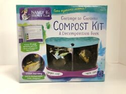 Educational Insights Nancy B#x27;s Science Club Garbage to Gardens Compost Kit $10.40
