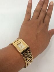 Stunning  Ecclissi Gold Tone Stainless Steel  watch