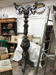 Lamp: Large Cast Bronze $29500.00