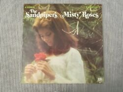 THE SANDPIPERS ~ MISTY ROSES  VINYL RECORD LP  VOCAL TRIO