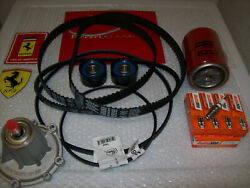 FERRARI 308-328 Gts Qv Timing Belt and Tensioner Kit with water pump Oem Parts.