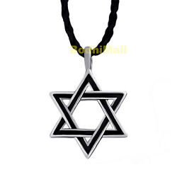 Star of David Amulet Pendant with Necklace $8.98